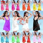 HB03 Summer Sexy Lycra Beach Vest Dress Bikini Cover Up 11 Colors U Pick New
