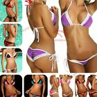 HB10 New Sexy Lace Bikini Set Bikini Top& Drape Bottom Beach Suit Women Swimwear