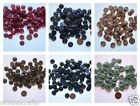 """Buttons 5/8""""  Different Colors Black Berry Greens Blues Browns Tans"""