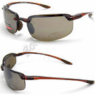 Eyelevel Dark UV400 Sports Sunglasses Mens Womens Wrap Around Brown Black Cat 3
