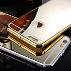 Luxury Aluminum Ultra-thin Metal Mirror Back Case Cover for Apple iPhone 6 4.7
