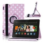 """Pink Folio Leather Stand Case Smart Cover For Amazon Kindle Fire HD HDX 7 & 8.9"""""""