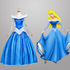 Dornröschen Sleeping Beauty Aurora Disney Cosplay Kostüm Abend-kleid lang long 2