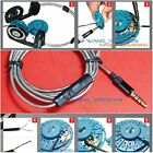 Replacement Silver Plated Audio Upgrade Cable KOSS Porta Pro Portapro Stereo PP