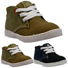 BOYS DESERT BOOTS BIKER RIDING INFANTS HI TOPS TRAINERS KIDS FASHION SHOES SIZE