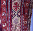 "Turkish Anatolian Ottoman Jacquard Pillow Cover Double Side Zippered 17""x17"" M27"