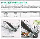 TUNGSTEN FINESS GRUB JIG  1/16 OZ  5 COLOURS FOR ULTRA LIGHT FISHING  SIZE 1