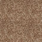 NOBLE SAXONY Pancake Beige Fleck Carpet Quality Thick Shag Pile Stain Resistant