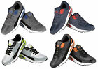 Air Tech Mens Running Trainers Casual Summer Lace Up Gym Walking Sport Shoes