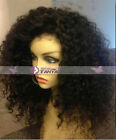 Spanish Curly Wave India remay human hair full/front lace wig with 160% density