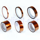 1X New 100ft Kapton Tape BGA High Temperature Heat Resistant Polyimide 5 Size DG