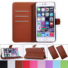 New Folio Flip Wallet PU Leather Phone Case Cover For Apple iPhone 6 6 Plus 5.5
