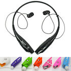 Bluetooth Wireless Sports Stereo Headphone Headset For iPhone Samsung LG HTC