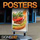 A-Board Pavement Sign Poster Printing A0, A1, A2 etc - FREE DELIVERY - 50% OFF!!