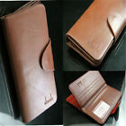 Leather Bifold Credit/ID Cards Holder Multi Pockets Wallet Purse 3Colors PH746