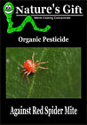 RED SPIDERMITE ORGANIC PESTICIDE, WORM CASTING CONCENTRATE FOR RED SPIDERMITE