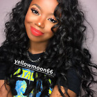 100% Indian Remy Human Hair 130% Density  Beauty Body Wave Full/Front Lace Wig