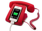 Retro Handset Dock Desk Smartphone Mobile Cell Phone Iphone 3.5mm Novelty Gifts