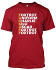 Foxtrot Phonetic Mens-Unisex-Funny-Offensive-T-Shirt-Gift-Dad-Father's Day-Xmas