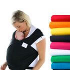 New Baby Sling Newborn Infant Stretchy Wrap Carrier Pouch Breastfeeding Coffee
