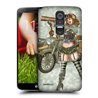 HEAD CASE DESIGNS ARMY PIN UP CHIC HARD BACK CASE FOR LG G2 D802