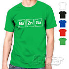 T shirt Ba Zn Ga Bazinga Big Bang Theory Sheldon Maglietta uomo donna tv serie