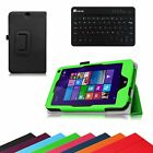 Slim Bluetooth Keyboard Case Cover for HP Stream 8 Model 5901 Windows 8.1 Tablet