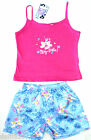 Girls Singlet & Boxer Shorts PYJAMAS Pjs 2pc set Pink/Blue Size 4,5,6 Brand New!