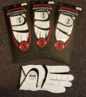 Golf Glove 3 Pack Genuine Performance Cabretta S Leather Up to XXX Large