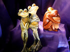 FSH152 Feng Shui Pair Toad  or Wood Hugging Couple for Romance