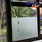 "Plain Frost Opaque Privacy Mirror Solar Window Tint Glass Film - ""No Bubbles"""