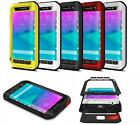 Waterproof Shockproof No Glass Cover Metal Case For Samsung Note Edge N9150 2015