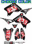 DRZ400SM Exhaust Graphic Kit Drz400s drz 400sm 400s Shroud Plastic Decals drz400