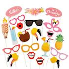 Party DIY Photo Booth Props Mask On A Stick Mustache Happy Birthday Party Decor