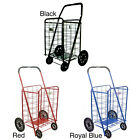 ATHome XL Shopping Cart with Rubber Wheels H1001XL