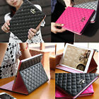Luxury Crown Leather Smart Case Stand Cover for Apple iPad2 3 4 5 Air Air 2 mini