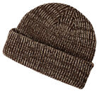Big Accessories New Double Layer Acrylic Ribbed Marled Beanie. BA524