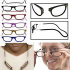 Magnetic Reading Glasses Fold Hanging Adjustable Magnifying Eyewear Spectacles