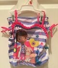 DISNEY, NWT 2 PIECE Set,Girls TANKINI SWIM SUIT,Doc Mc, Multi COLOR / SIZE, KM