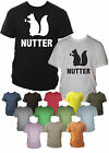 Nutter Funny Mens T-Shirt Sizes Small - XXL Various Colours & Print Colours
