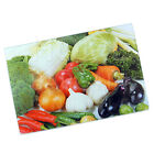 GLASS BOARD HIGHLY DURABLE ASSORTED DESIGN PORTABLE LIGHT WEIGHT CHOPPER KITCHEN