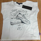French Connection girl top t-shirt BNWT 4-5 y 110 cm designer trainers print