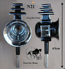 Horse Carriage Coach Lamps Big Horse Size Brass Or White Metal Trim N22 N22