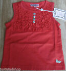 Barbara Farber girl red top BNWT 104 cm 3-4 y designer