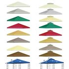 New 10x10' Replacement Canopy Top Patio Pavilion Gazebo Sunshade Polyester Cover