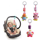 Baby Bed Hanging Wind Chimes Ringing Animals Hand Bell Stroller Mobile Toys Gift