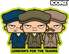 ICONZ CARTOON TEE SHIRT PEAKY BLINDERS TOMMY SHELBY CILLIAN MURPHY HELEN McCRORY