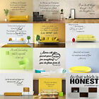 Bible Verse Wall Decals Word Vinyl Removable Sticker Quote Inspiration Art Decor