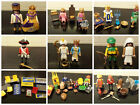playmobil soldier king queen princess robin hood peasants donkey choose a set ,