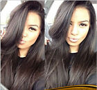 """12""""-24"""" New fashion style Malaysian Silky straight remy human hair lace wigs"""